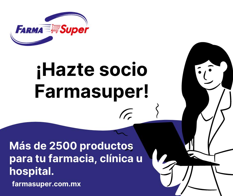 Farmasuper, distribuidor de medicamento genérico con más de 2500 productos disponibles para su farmacia, clínica u hospital