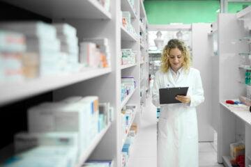 Inventario de farmacia de genéricos